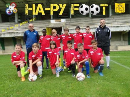 Les stages sportiifs Ha-Py Foot