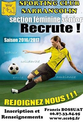Le Sporting recrute!